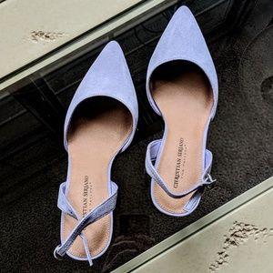 8.5 Christian Siriano heels.